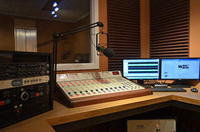 iRock Radio Production Room
